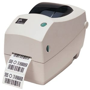 Zebra TLP 2824 Plus Barcode & Label Printer with USB Ethernet