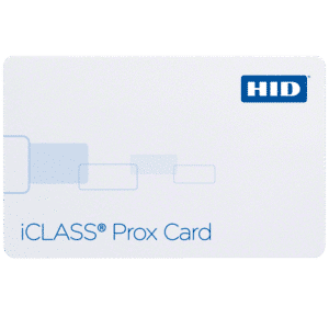 HID 202x iCLASS Prox Contactless Smart Card - 100 Cards