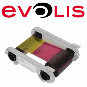 Evolis Color Ribbon YMCKO - 200 Prints