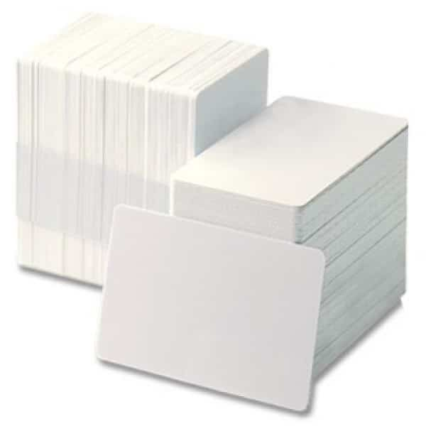 Zebra 104523-118 Blank PVC with Signature Panel 30 mil 500 Cards