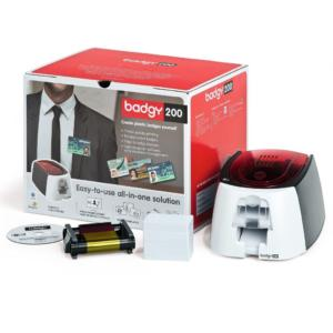 badgy200-evolis printer